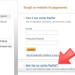 Fase 2 - Procedura pagamento PayPal con carte di credito | Trovareunlavoro.it