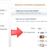 Fase 3 - Procedura pagamento PayPal con carte di credito | Trovareunlavoro.it