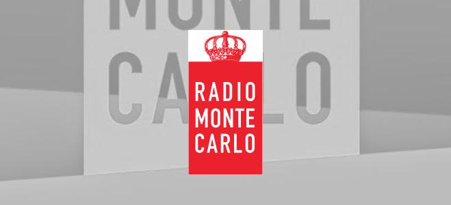 Logo rosso Radio Monte Carlo RMC