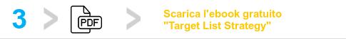 Target Aziende - Scarica l'ebook target list strategy - Scrittura Curriculum Vitae e Revisione CV Professionale