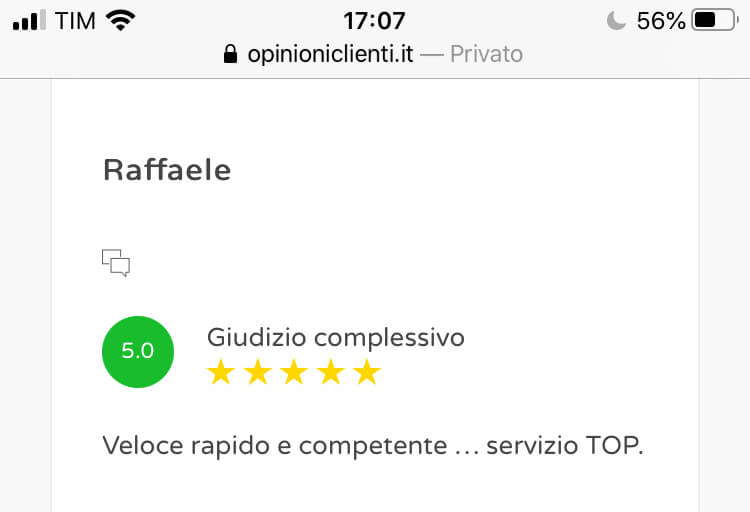 Review scrittura cv 07