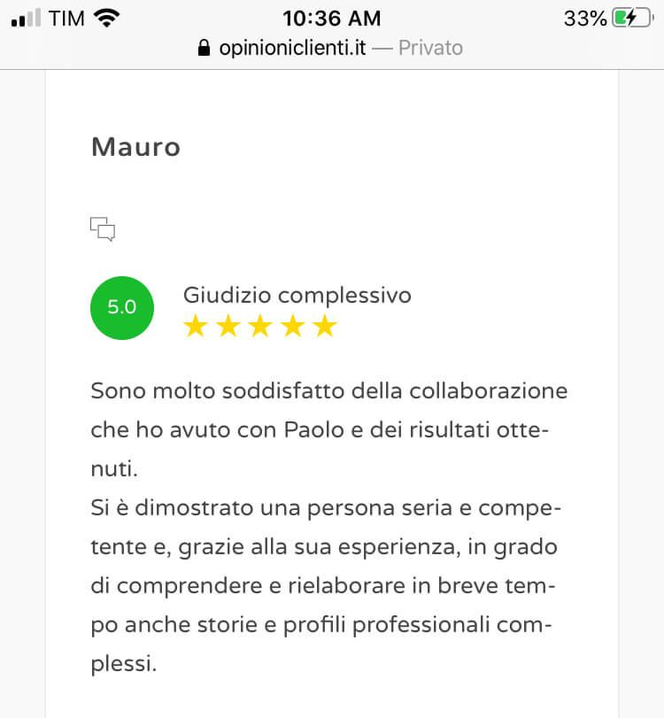 Review scrittura cv 08