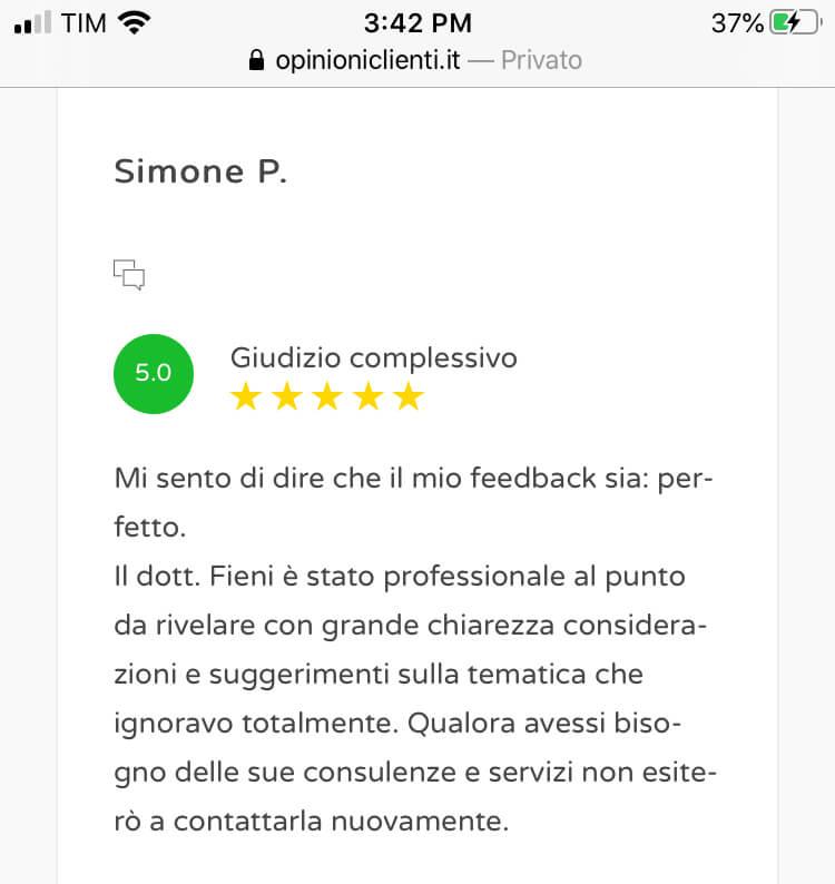 Review scrittura cv 14
