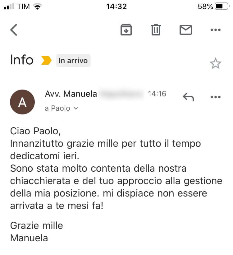 Review scrittura cv 16
