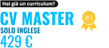 Revisione CV Master