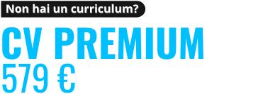 Revisione CV Premium in Italiano